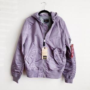 Alpha Industries Purple Bomber